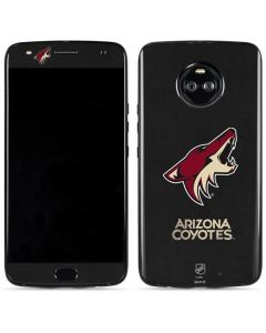 Arizona Coyotes Distressed Moto X4 Skin