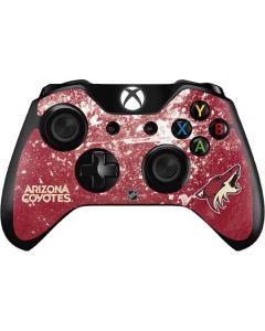 Arizona Coyotes Frozen Xbox One Controller Skin