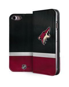 Arizona Coyotes Jersey iPhone 8 Folio Case