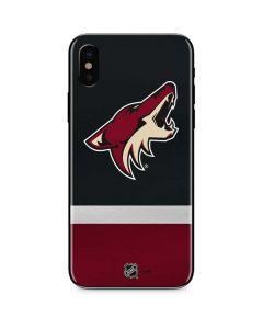 Arizona Coyotes Jersey iPhone XS Skin