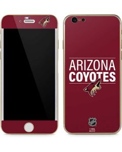 Arizona Coyotes Lineup iPhone 6/6s Skin