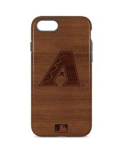 Arizona Diamondbacks Engraved iPhone 8 Pro Case