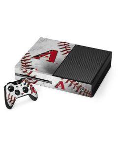 Arizona Diamondbacks Game Ball Xbox One Console and Controller Bundle Skin