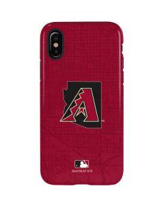 Arizona Diamondbacks Home Turf iPhone XS Pro Case