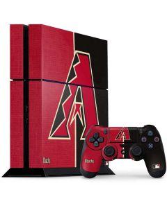 Arizona Diamondbacks Split PS4 Console and Controller Bundle Skin