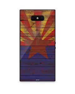 Arizona Flag Dark Wood Razer Phone 2 Skin