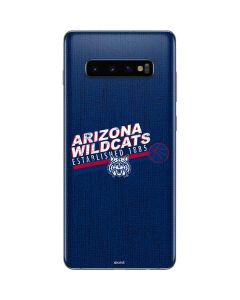 Arizona Wildcats Est 1885 Galaxy S10 Plus Skin