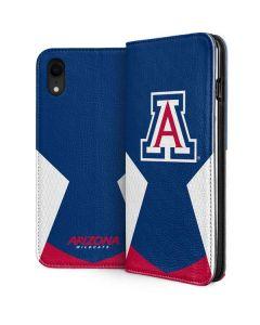 Arizona Wildcats Logo iPhone XR Folio Case