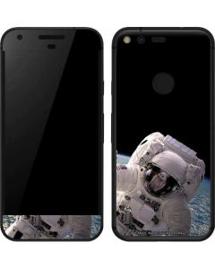 Artists Concept of an Astronaut Floating in Outer Space Google Pixel Skin