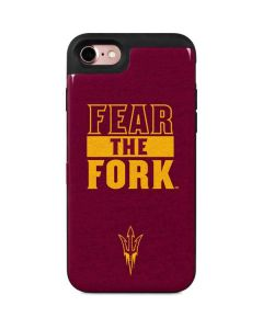 ASU Arizona Fear the Fork iPhone 7 Wallet Case