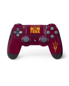 ASU Arizona Fear the Fork PS4 Controller Skin