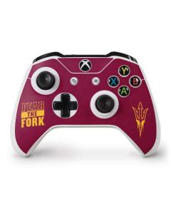 ASU Arizona Fear the Fork Xbox One S Controller Skin
