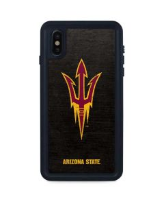 ASU Arizona Pitchfork iPhone XS Max Waterproof Case