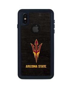 ASU Arizona Pitchfork iPhone XS Waterproof Case