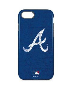 Atlanta Braves - Solid Distressed iPhone 8 Pro Case