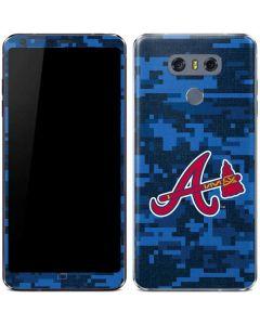 Atlanta Braves Digi Camo LG G6 Skin