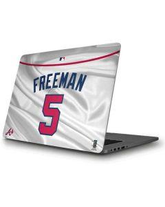 Atlanta Braves Freeman #5 Apple MacBook Pro Skin