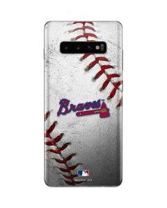 Atlanta Braves Game Ball Galaxy S10 Plus Skin