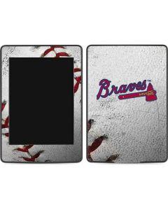 Atlanta Braves Game Ball Amazon Kindle Skin