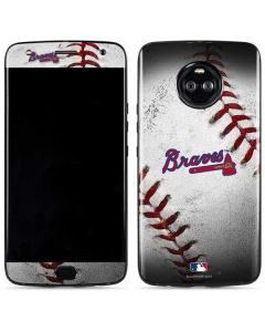 Atlanta Braves Game Ball Moto X4 Skin