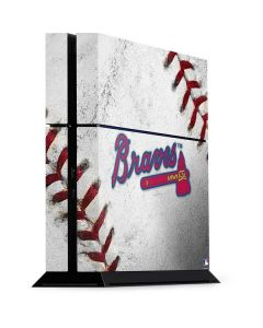 Atlanta Braves Game Ball PS4 Console Skin