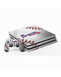 Atlanta Braves Game Ball PS4 Pro Bundle Skin