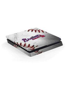 Atlanta Braves Game Ball PS4 Slim Skin