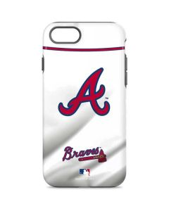 Atlanta Braves Home Jersey iPhone 8 Pro Case