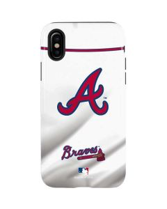 Atlanta Braves Home Jersey iPhone XS Pro Case
