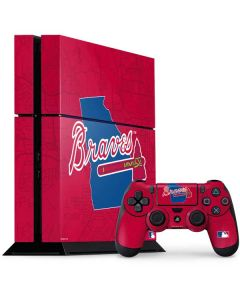 Atlanta Braves Home Turf PS4 Console and Controller Bundle Skin