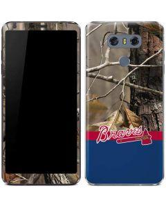 Atlanta Braves Realtree Camo LG G6 Skin