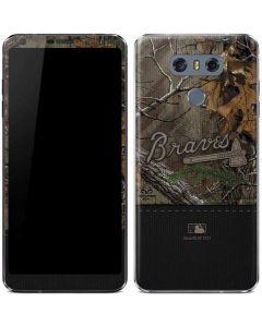 Atlanta Braves Realtree Xtra Camo LG G6 Skin