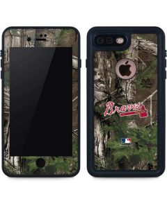 Atlanta Braves Realtree Xtra Green Camo iPhone 8 Plus Waterproof Case