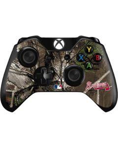 Atlanta Braves Realtree Xtra Green Camo Xbox One Controller Skin