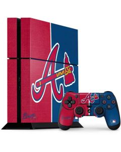 Atlanta Braves Split PS4 Console and Controller Bundle Skin