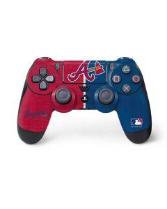 Atlanta Braves Split PS4 Controller Skin