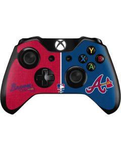 Atlanta Braves Split Xbox One Controller Skin