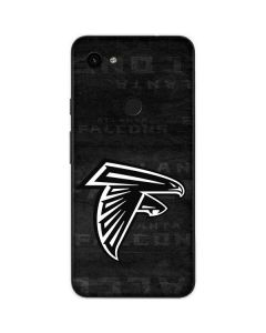 Atlanta Falcons Black & White Google Pixel 3a Skin