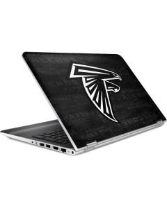 Atlanta Falcons Black & White HP Pavilion Skin