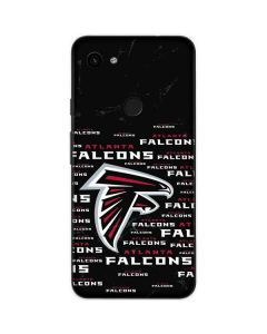 Atlanta Falcons Black Blast Google Pixel 3a Skin
