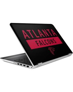 Atlanta Falcons Black Performance Series HP Pavilion Skin