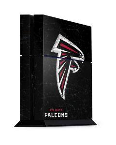 Atlanta Falcons Distressed PS4 Console Skin