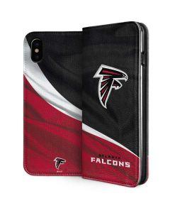 Atlanta Falcons iPhone XS Max Folio Case