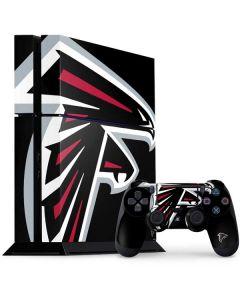 Atlanta Falcons Large Logo PS4 Console and Controller Bundle Skin