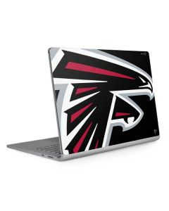 Atlanta Falcons Large Logo Surface Book 2 15in Skin