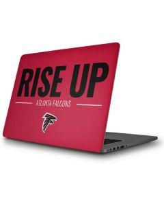 Atlanta Falcons Team Motto Apple MacBook Pro Skin