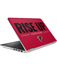 Atlanta Falcons Team Motto HP Pavilion Skin