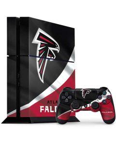 Atlanta Falcons PS4 Console and Controller Bundle Skin