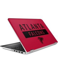 Atlanta Falcons Red Performance Series HP Pavilion Skin