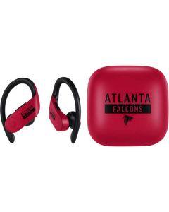Atlanta Falcons Red Performance Series PowerBeats Pro Skin